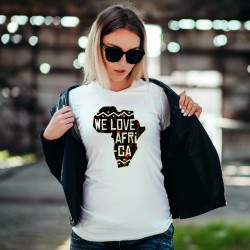 T-Shirt WE LOVE AFRICA / Femme