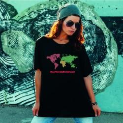 T-shirt LE MONDE EST CHAUD...
